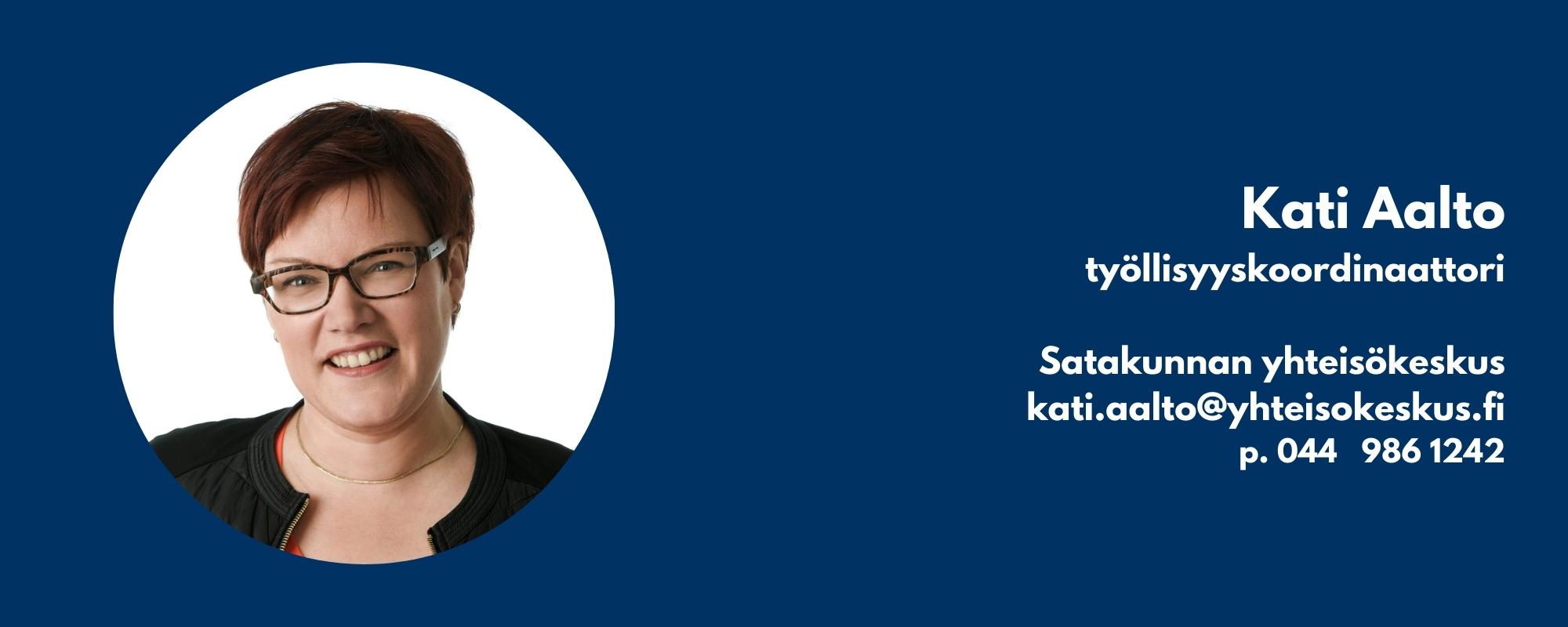 Kati Aalto käyntikortti