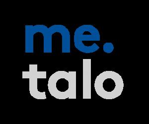 Me-talo logo web