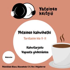 Yhteinen kahvihetki