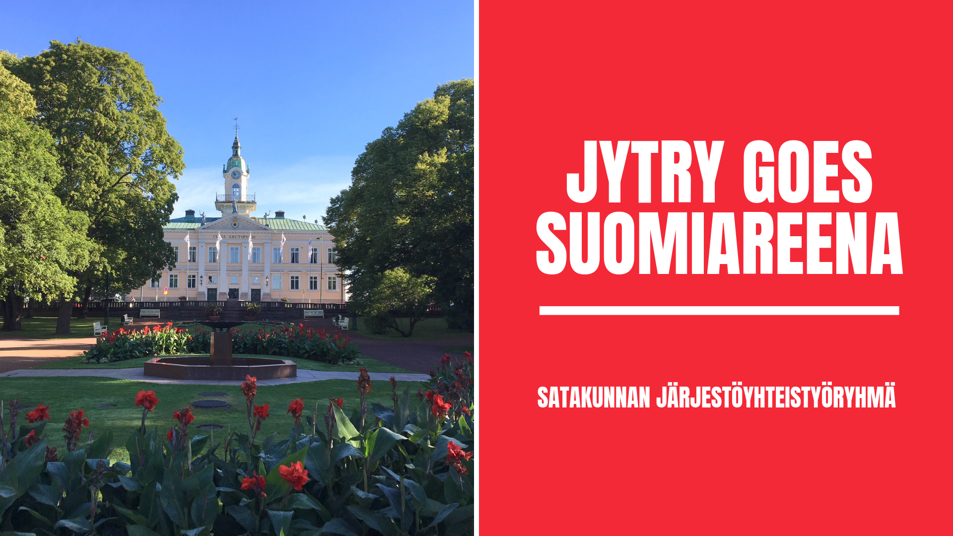 JYTRY goes SuomiAreena