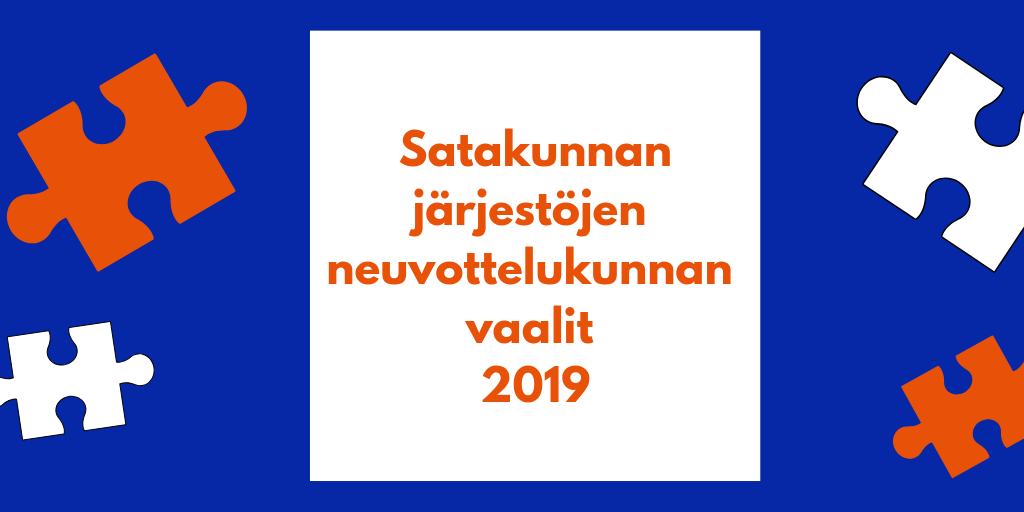 Satakunnan järjestöjen neuvottelukunnan vaalit 2019
