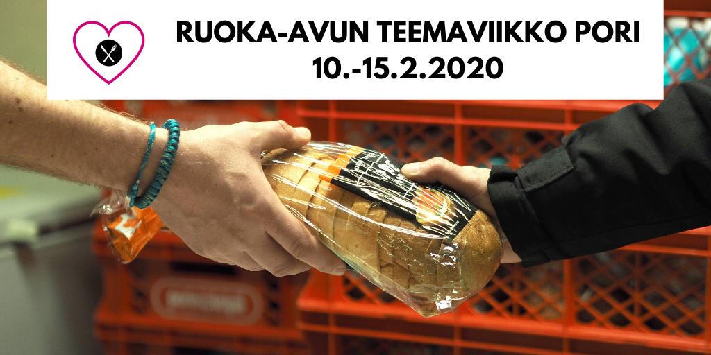 RUOKA-AVUN TEEMAVIIKKO PORI 10.-15.2.2020